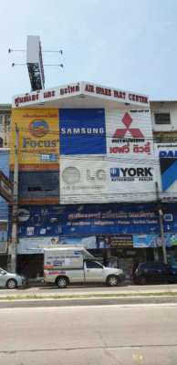 SALE  4 Units Shop House closed main Road at Pattaya very golden locat