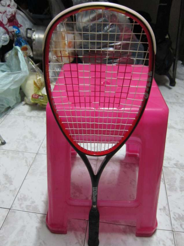squash racquet Wilson prostaff ROK barely used
