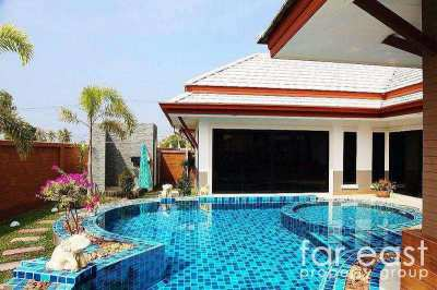 Modern Baan Dusit Pool Villa For Sale