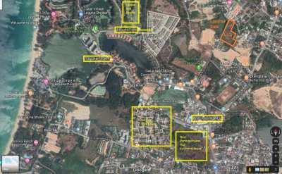 11 Rai Flat Development In Cherngtalay / Phuket