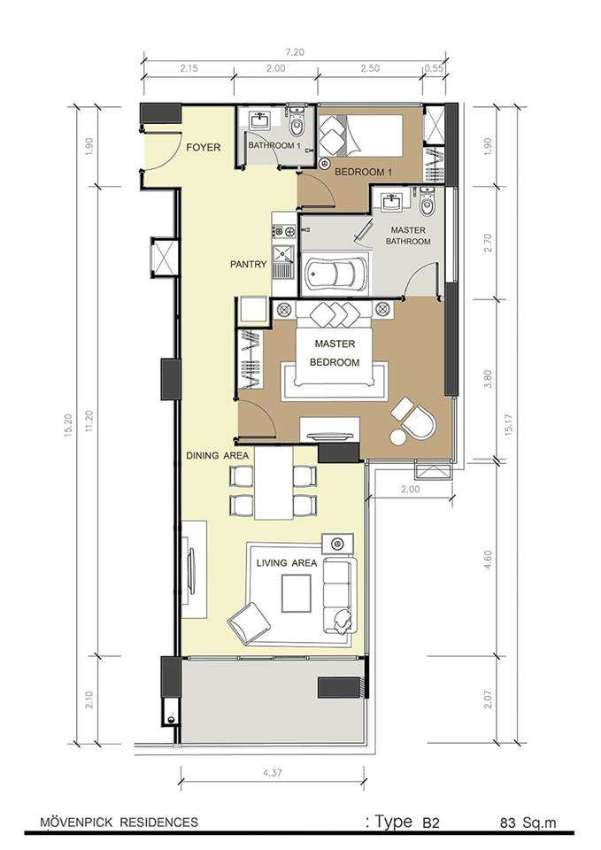 Mövenpick Residences Penthouse for Sale