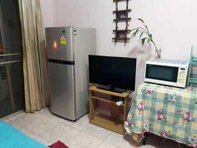 3rd floor- Nirun condo for rent.  Everything New inside