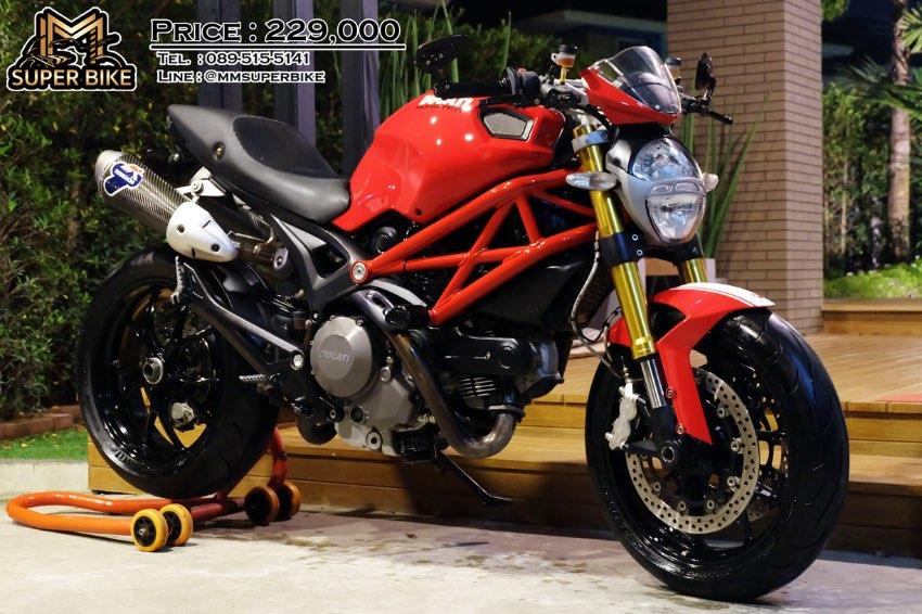 Ducati Monster 796 2014 Termignoni DP with Ohlins steering damper!