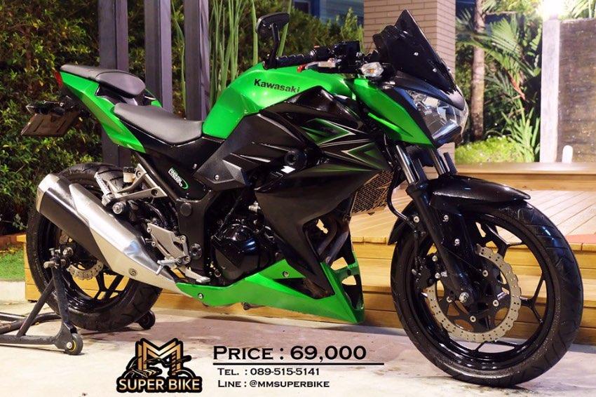 [ For Sale ] Kawasaki Z250 2016 only 7,2xx km! Very good condition!