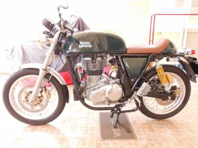 Royal Enfield Continental GT 535 CC 1780 KMS as new.