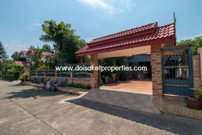(HS276-03) Cool and Unique Home for Sale in a Great Location in Doi Sa