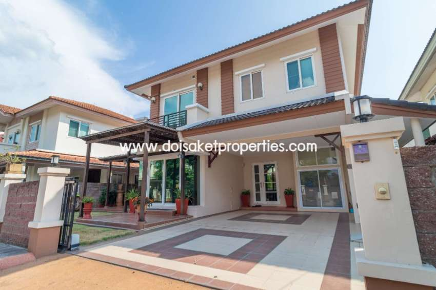 (HS277-03) Lovely Two Storey House for Sale in a Moo Ban, Doi Saket