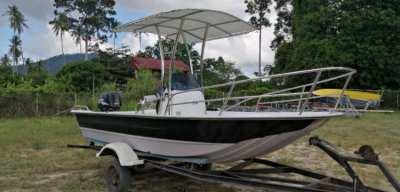 BOAT FOR FISHING - SUZUKI DF70 4 STROKE