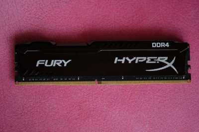 Kingston HyperX FURY 16GB DDR4 PC3-19200 2400MHz