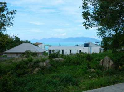 Sea view Land forsale Plai Laem soi 8
