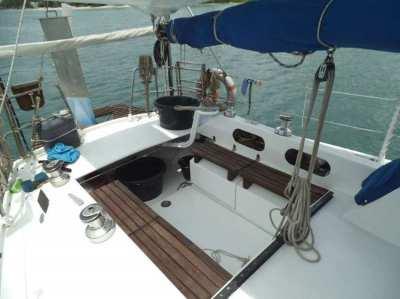 Aluminium sailing boat 33 feet