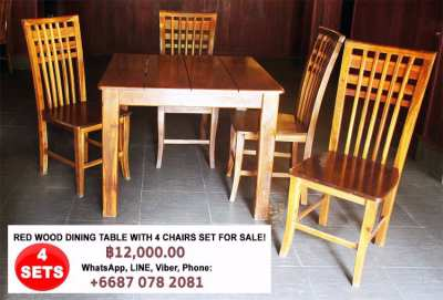 Restaurant Tables & Chairs for Sale!