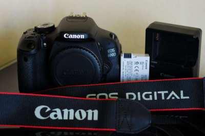 Canon 600D (Kiss X5, Rebel T3i) Black Body