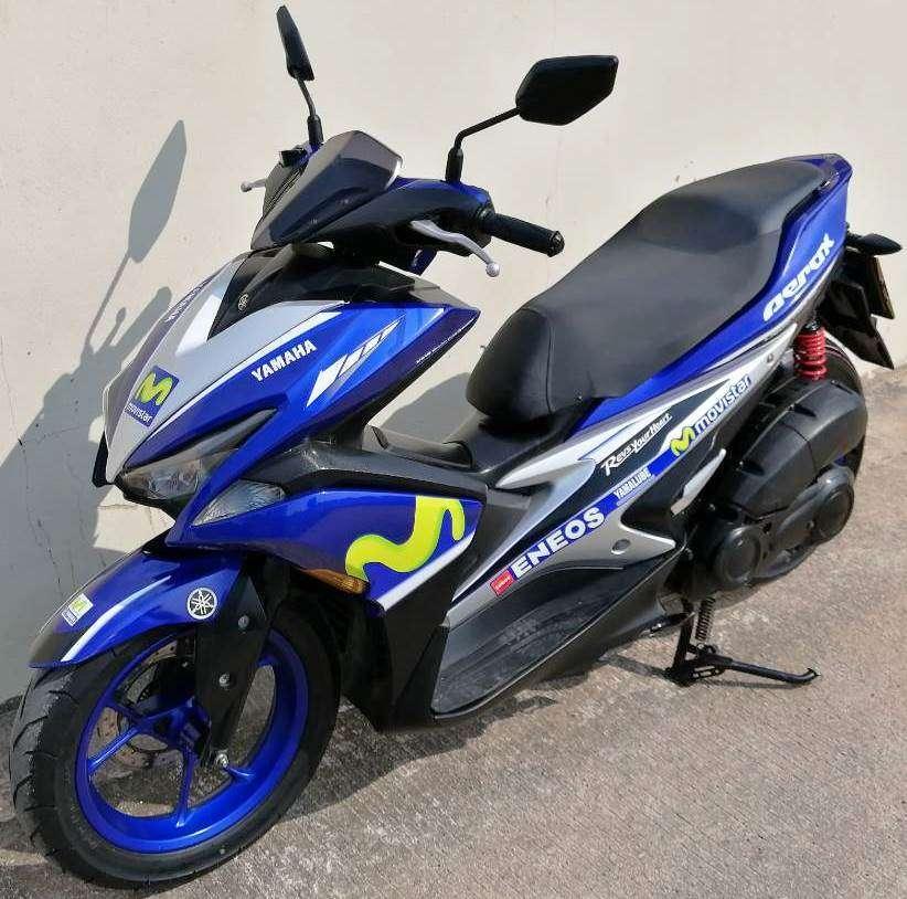 11/2017 Yamaha Earox 155 47.900 ฿ Finance by shop