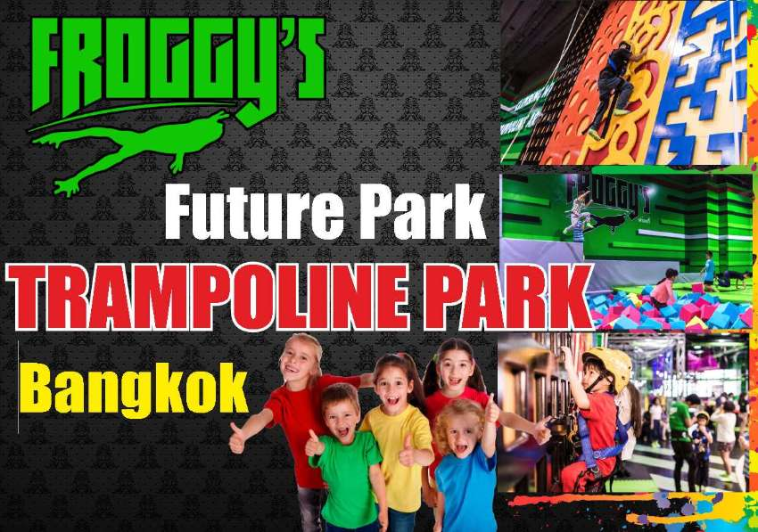Froggy's Trampoline Park at ZPELL Future Park GOOD BUSINESS