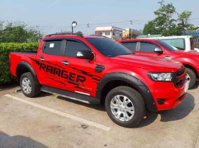 NEW 2019 Ford Ranger 4 door pick up for rent only THB 20.000