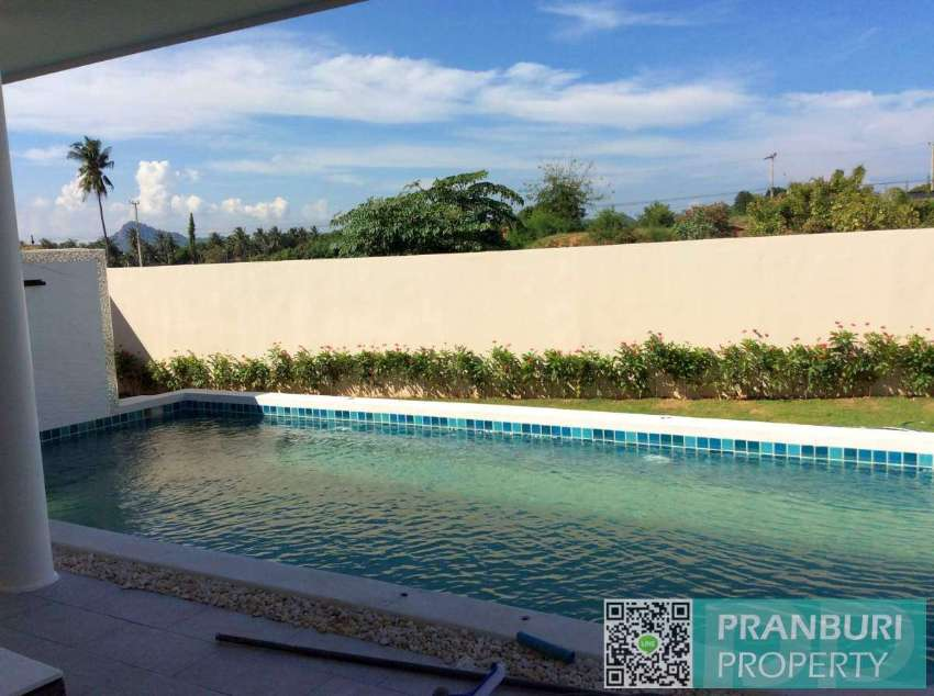 Newly completed Oct'19 2 bed pool villa in Khao Tao loaded w/features