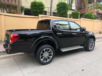 2010 Mitsubishi Triton, Diesel, Automatic, 4 door, Black on Black
