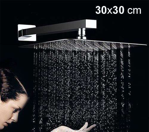 30cm/12inch Rainfall Shower Head Stainless Steel