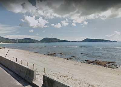 Beach Front Land For Sale 2.5 Rai, 4 Rai, Kalim beach, Patong, Phuket.