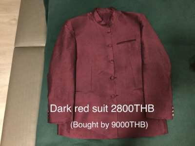 3 Thai silk suits(price reduced)