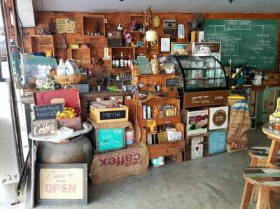 A great lifestyle Cafe for sale in Hua Hin