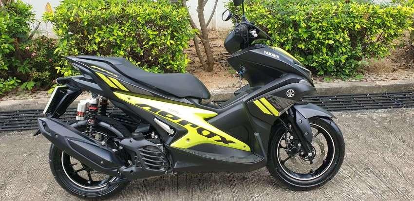 Yamaha Aerox R 155 with YSS Shocks - 2600 km