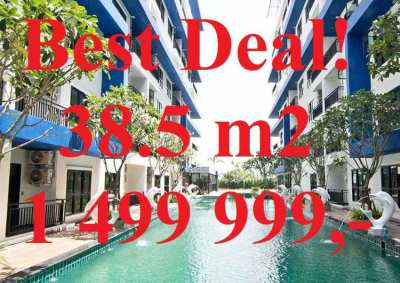 Best Deal! Luxury Condo 38m2 Blue Residence