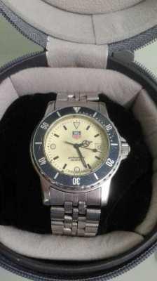 Original Tag Heuer 1500 Series Quartz 40mm Watch Full Lume Rare Model