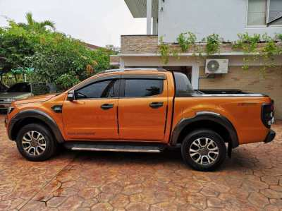FORD Ranger Wildtrak 2.2 top model fully serviced 2017 low mileage