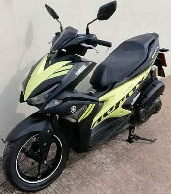 04/2017 Yamaha Aerox 155 cc 46.900 ฿ Finance by shop
