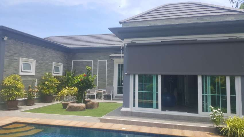 #3085  Immaculately presented pool villa beside the fairway