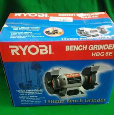 Ryobi Bench Grinder. Brand New in sealed box. Never opened