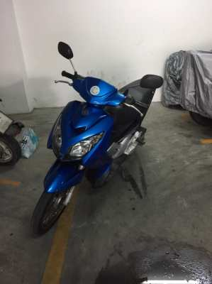 selling Yamaha Novua, 2008, inspection and insurance until October 202