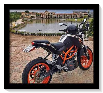 KTM Duke 390 very low Mileage
