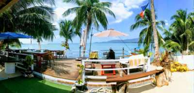base nautique et restaurant front de mer Koh Samui