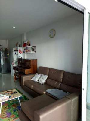 Pornthep 9 village two story townhouse for sale East Pattaya.