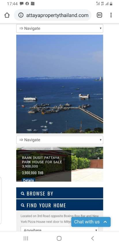 www.pattayapropertythailand.com and  4Facebook pages for Sale