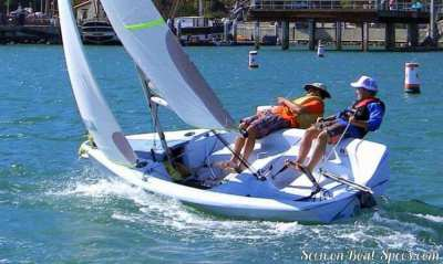Sailing dinghy RS VISION for sale AT REDUCE PRICE