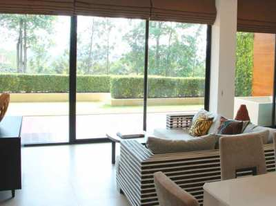 Condo, outdoor bathtub and undisturbed garden in Khao Yai