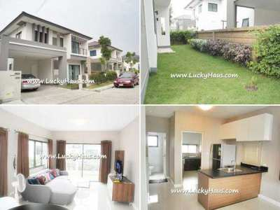 Single house on Watcharapol, 3 bedrooms, contemporary, only 40K