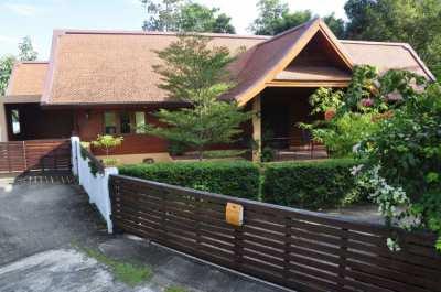 Semi-Rural Luxury Thai Style Pool Villa near Royal Flora/Night Safari