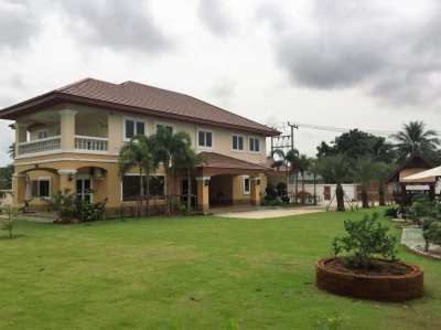 Huge 6 Bed 4 Bath 420M2 New Modern Detached House Huay Yai.