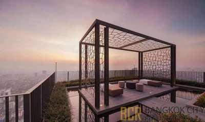 M Ladprao Ultra Luxury Condo Very High Floor 1 Bedroom Unit for Rent