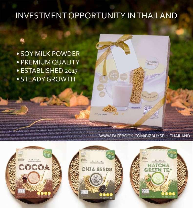 Soy Milk Powder Investment Opportunity in Bangkok Thailand
