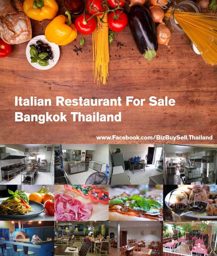Italian Restaurant For Sale in Bangkok Thailand