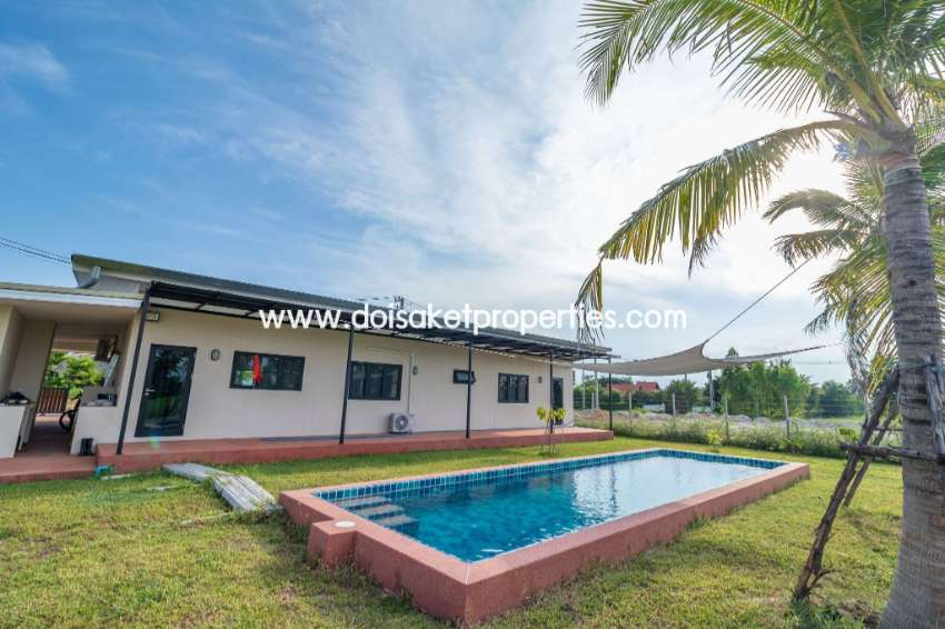 (HS278-03) Modern Single Storey Home with Private Swimming Pool for Sa