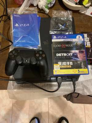 PS 4-plus 2 games included- all new.