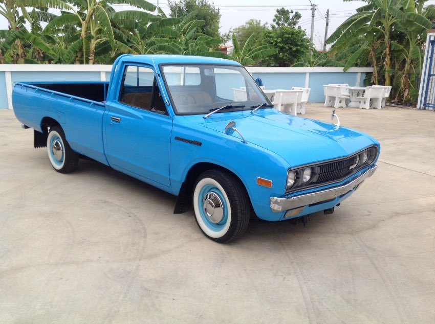 Classic Datsun 620 pickup (fully restored)