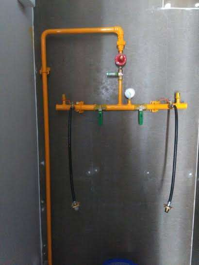 Gas installation service